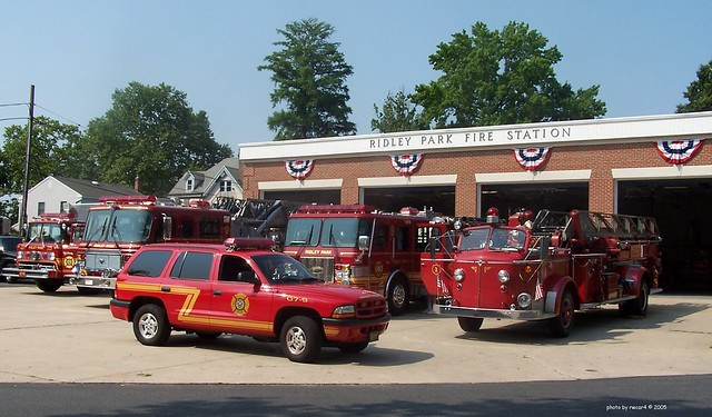 Ridley Park PA Fire Station 2005