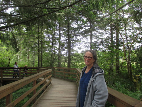 Lewis and Clark National Park, at Fort Clatsop