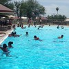 Great fun at the East Lake pool today downtown. Thank you for the pool party, @phxrevcorp ! #azsummer #figuringitout #dtphx