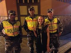Hanging with the locals again, Cuenca, Ecuador