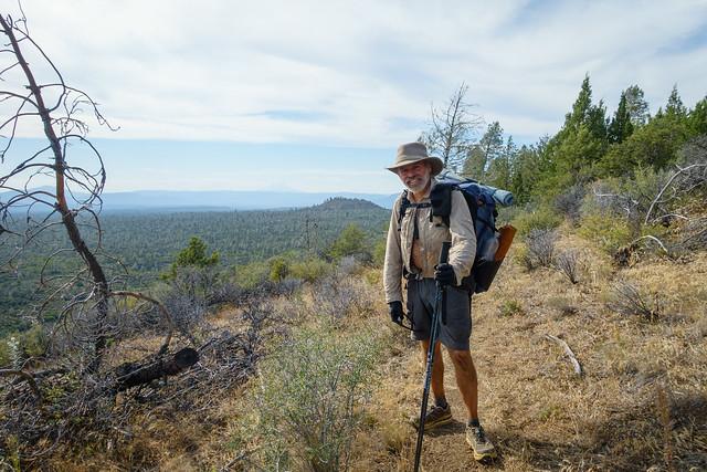 Hat Creek Rim, plus Mt Shasta