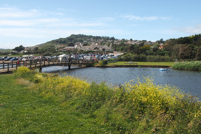 The River Char at Charmouth
