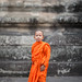 """the young monk"" by Peter Liard"
