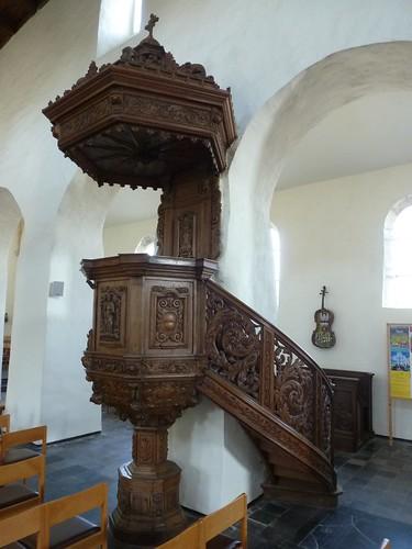 Chaire de vérité baroque, du 17e siècle