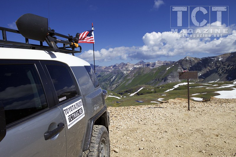 Imogene Pass FJ Summit #9 in Ouray, Colorado - Toyota Magazine