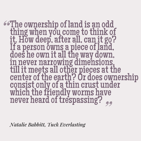 Tuck Everlasting Quote
