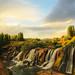 Muradiye Waterfalls by ionut iordache