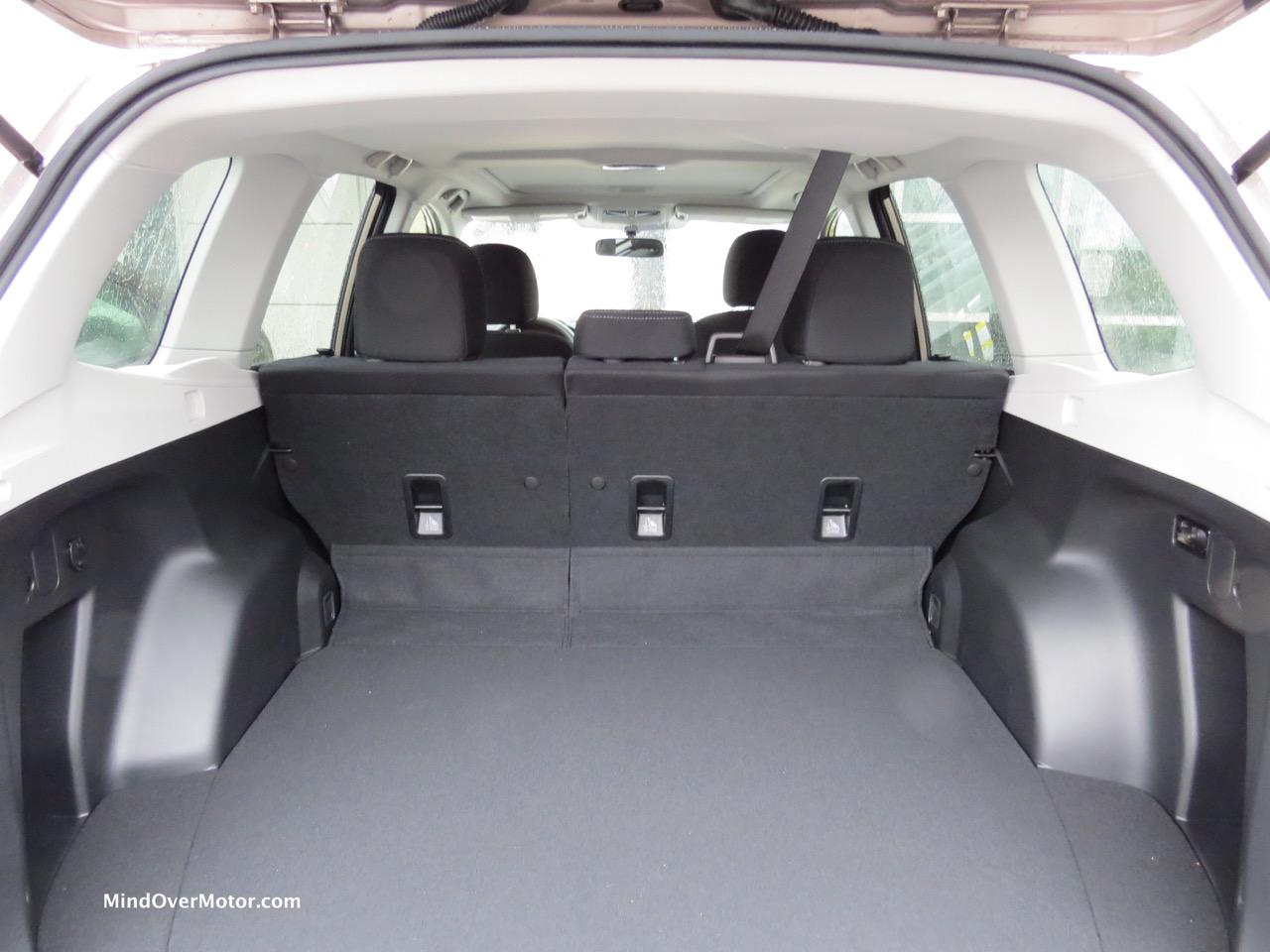 2015 Subaru Forester Cargo Hold