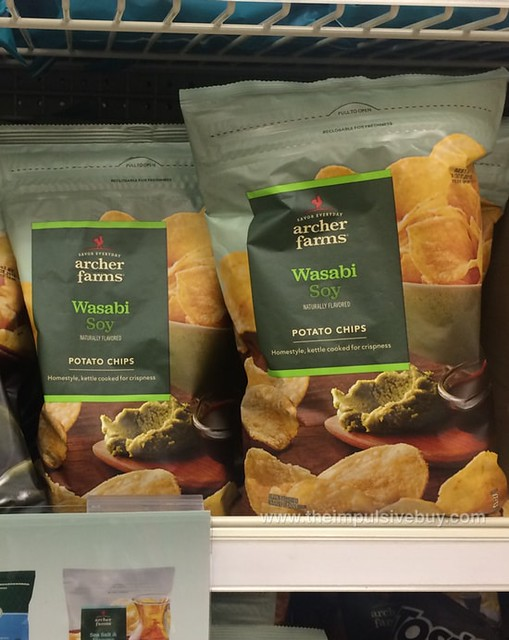Archer Farms Wasabi Soy Kettle Cooked Potato Chips