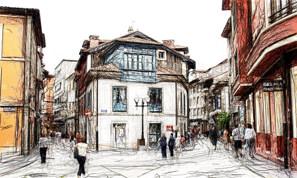 calles de Villaviciosa de Asturias