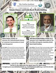 Islamic Finance and Faith Based Wealth Building 2015