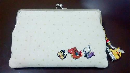 ポケモンのクロスステッチ、3DSケース