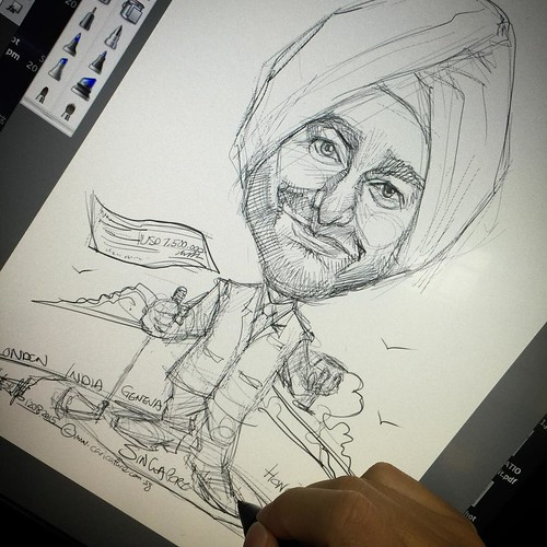A sketch for client.....