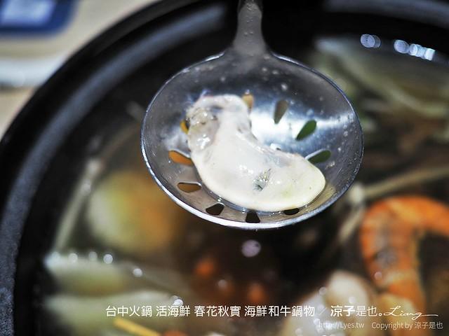 台中火鍋 活海鮮 春花秋實 海鮮和牛鍋物 98