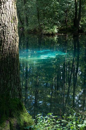 blue nature river spring stream