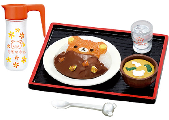 【新增官圖&販售資訊】RE-MENT「拉拉熊的昭和食堂」溫暖登場 !リラックマ 昭和食堂
