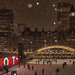 Nathan Philliips Square on a Snowy Night by A Great Capture