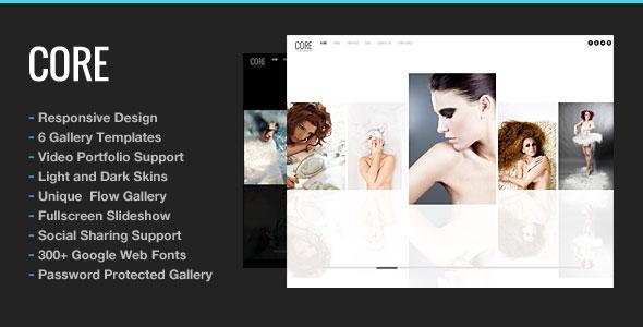 Core v5.6 – Minimalist Photography Portfolio