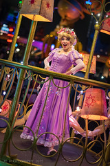 Rapunzel in Paint the Night