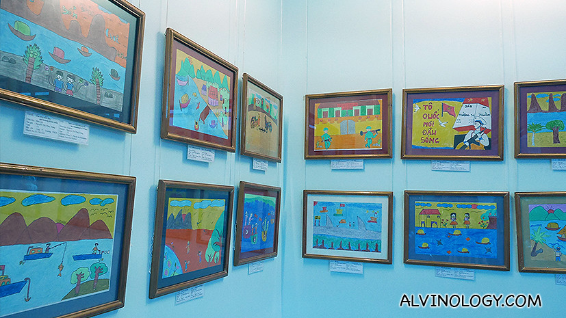 Children's artworks