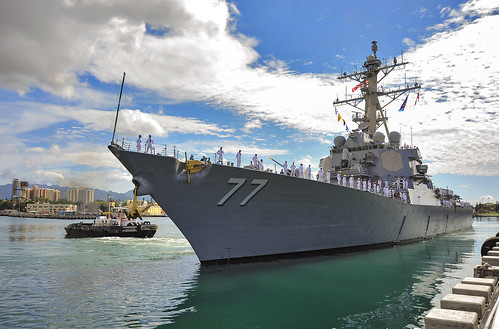 USS O'Kane (DDG 77) Biggest DSRA IN PHNSY History