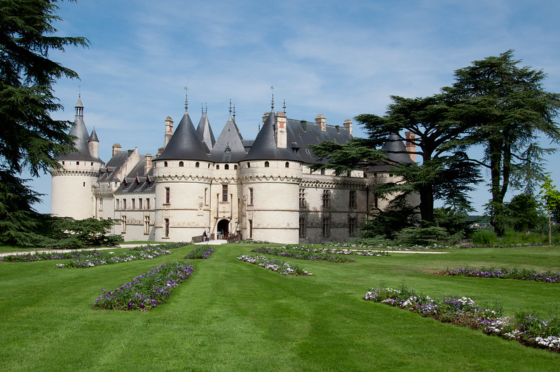 Le château de Chaumont sur Loire