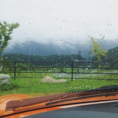 梅雨ドライブ