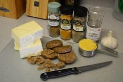 Ingredients for Tofu Scramble (Vegan)