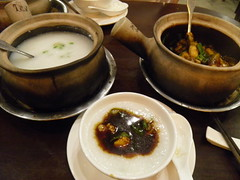 Frog porridge Saigon Vietnam