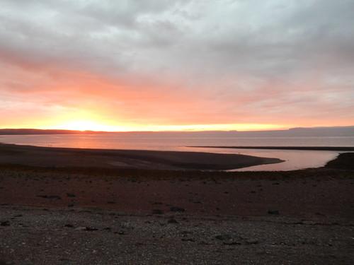 Campsite Spencers Island - sunrise