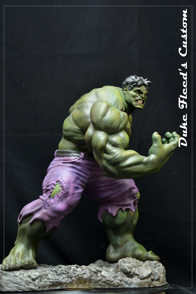 Hulk Kotobukiya repeint  19145996350_bd63744fa0_b
