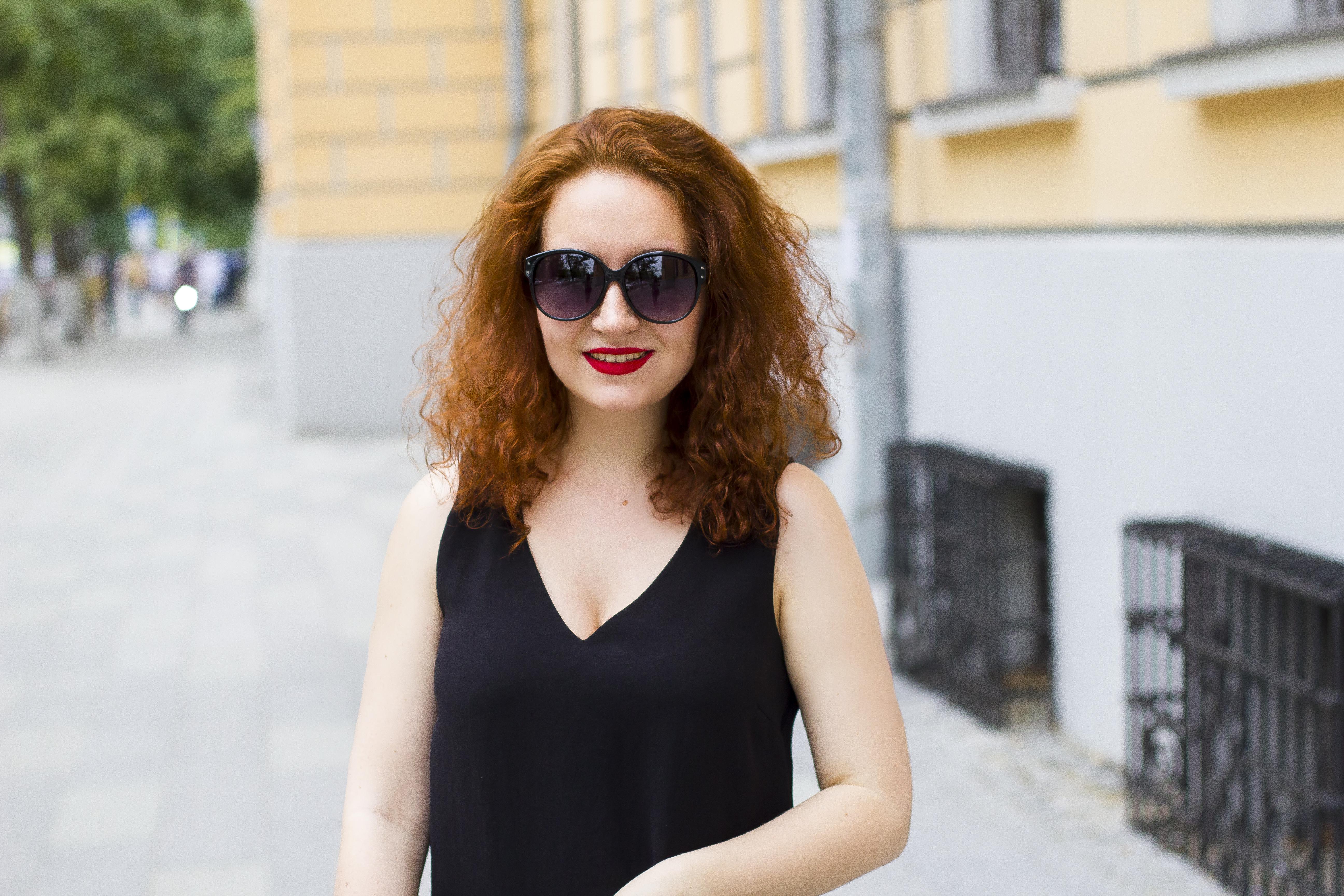 Enn Franco Says, Fashion blog, Marc Jacobs black dress, Pieces sunglasses
