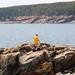 Walking on rock by daveynin