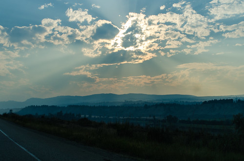 ca sunset canada britishcolumbia transcanadahighway pritchard