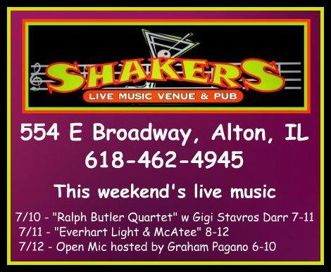 Shakers 7-10 thru 7-12-15