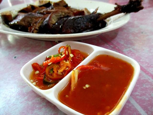 Sg Tenggang chili dips