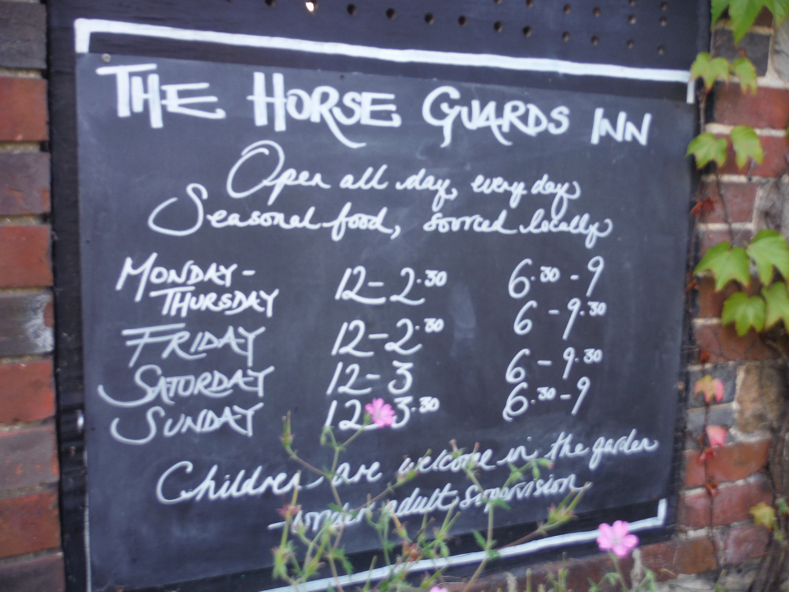 Horse Guards Inn, Tillington SWC Walk 217 Midhurst Way: Arundel to Midhurst