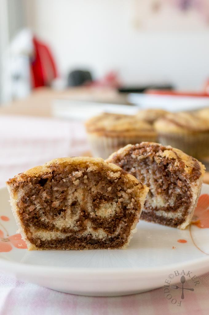 Mini Marble Cakes