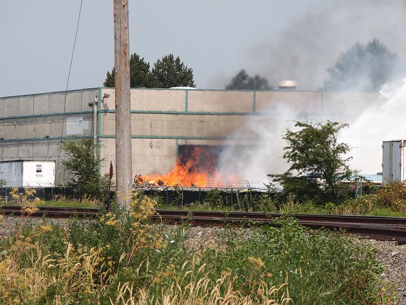 Fire in Kent