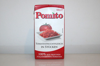10 - Zutat Tomaten in Stücken / Ingredient tomato pieces