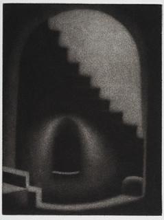 Peruvian Portal VII, mezzotint 6 x 4 1-2, 2011 copy