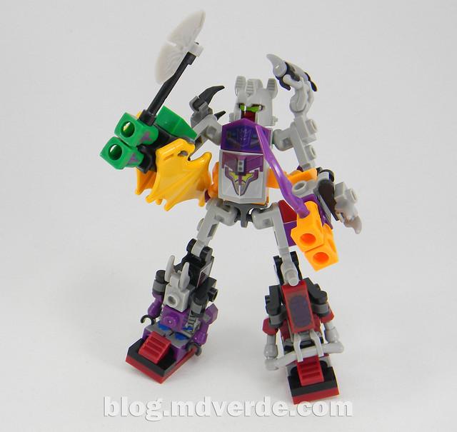 Transformers Abominus Kre-O - modo combinado