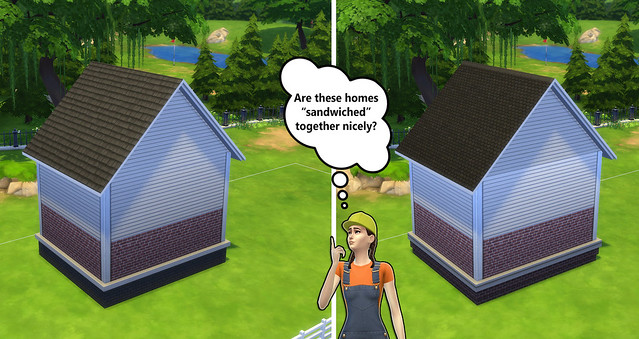 Building For Beginners In The Sims 4 Exterior Color And