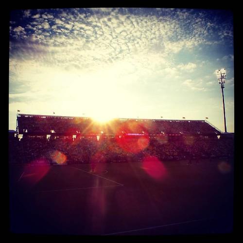 It was a beautiful for football at #MapfreStadium. #CrewSC