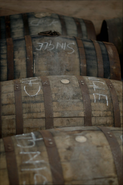 Single casks at Kilchoman distillery