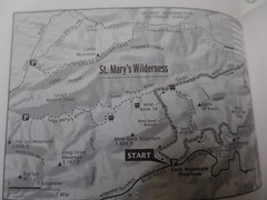 St. Mary's Wilderness Area Hike