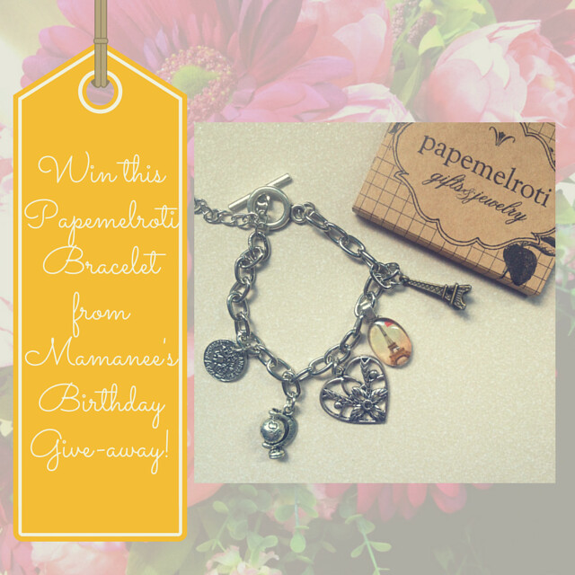 Mamanee's & Papemelroti's Bracelet Give-away