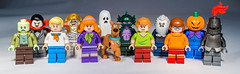 All the Lego Scooby Doo Character