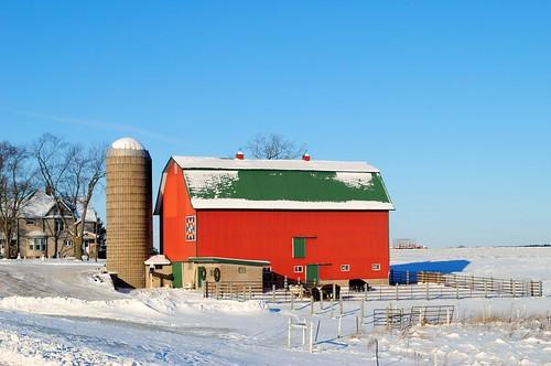 Farm in Slades Corners, Wisconsin