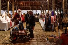 Au marché de Noël - Photo of Charroux